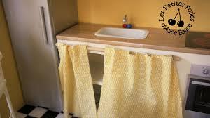 rideaux pour cuisine meuble à rideau pour cuisine