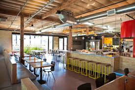 pitfire pizza shop design by bestor architecture shop design