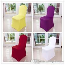 Stretch Chair Covers Wholesale Universal Polyester Wedding Party Stretch Chair Covers