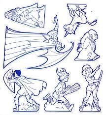 dungeons u0026 dragons cartoon encyclopedia pintar montar