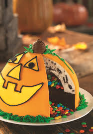 halloween cookie cake no tricks just treats baskin robbins celebrates halloween season
