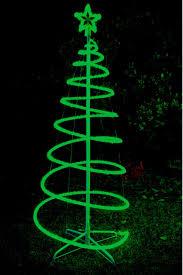 solar christmas tree lights 120cm green solar led spiral xmas tree light outdoor spiral