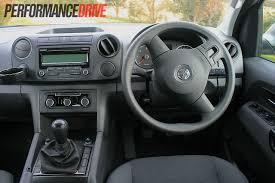 mitsubishi triton 2012 interior 2012 volkswagen amarok trendline review performancedrive