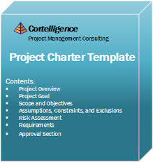 project charter template free download cortelligence consulting