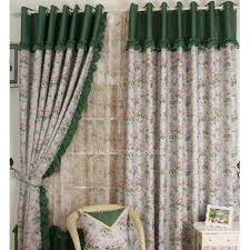 Drapes Over French Doors - best one floral country curtains over french doors with leaf printing