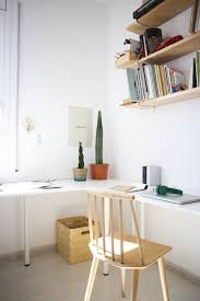 Ikea Lerberg Shelf Shopping Sources For A Minimal Mediterranean Style Apartment Therapy