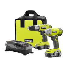 Home Depot Deal Of Day by Ryobi 18 Volt One Drill Driver And Impact Driver Kit P1832 The