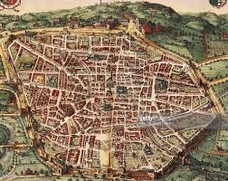Map Venice Italy by Italy Venice Map Of Bologna In 1600 Engraving From Theatrum
