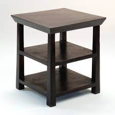Tables In Living Room Modern Teak Tile Side Table Coffee Small Contemporary