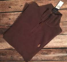 men u0027s polo ralph lauren mock zip brown pony nutmeg cotton sweater