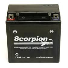 yt9a battery scorpion 12 volt motorcycle batteries