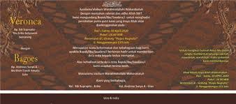 template undangan format cdr 5 download template undangan pernikahan modern 6 yang dipakai