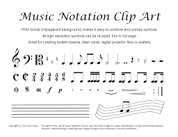 colorful musical notes clip free clip art music notes 42