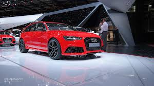 audi wagon 2015 2015 audi rs6 is a refreshed super wagon in paris live photos