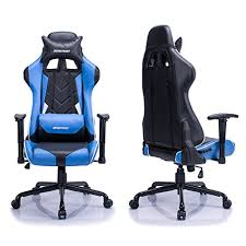Recliner Gaming Chairs Aminiture Big And High Back Racing Gaming Chair Blue Recliner