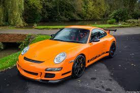 orange porsche 2007 porsche 911 gt3 rs