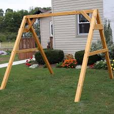porch swing frame sets frame decorations