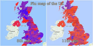aussie map an aussie flu map has been created to reveal the worst hit areas