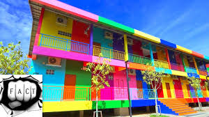 colorful building top 10 most colorful cities in the world youtube
