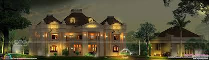 royal look colonial style kerala home design kerala home design
