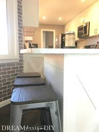 how to add a kitchen island how to add shiplap to a kitchen island easy budget way to