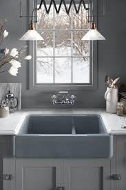 smart divide stainless steel sink kohler smart divide bowls make our whitehaven sinks more functional