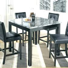 black high top kitchen table black dining room table set dining room table square high top dining