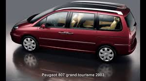 used peugeot 807 peugeot 807 grand tourisme youtube