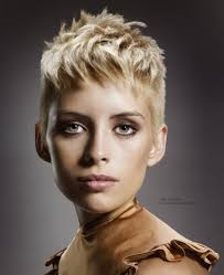 gamine hairstyles for mature women gamine short hairstyle with super short sides for the woman who is