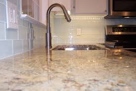 Kitchen Backsplash Glass Tile White  Wonderful Kitchen Backsplash - Glass tiles backsplash kitchen