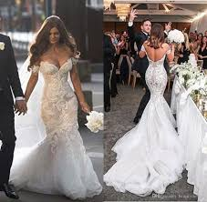 mermaid trumpet wedding dress 2016 gorgeous steven khalil dubai mermaid trumpet wedding dresses