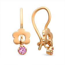 new fashion gold earrings beautiful 14k gold earrings for babies toddlers kids jewelry