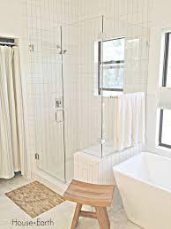 White Subway Tile Bathroom by Bathroom Renovation White Subway Tiles On Shower Surround White