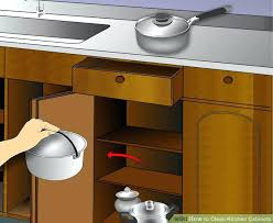 Wood Cleaner For Kitchen Cabinets by Grease Cleaner For Kitchen Cabinets Image Titled Clean Kitchen