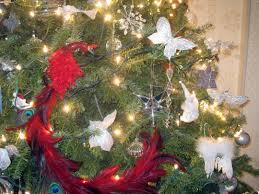 christmas tree angel christmas lights decoration