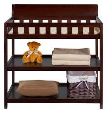White Convertible Crib With Changing Table by Nursery Decors U0026 Furnitures Crib With Changing Table With Brown
