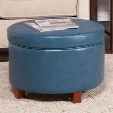 blue ottomans u0026 storage ottomans for less overstock com