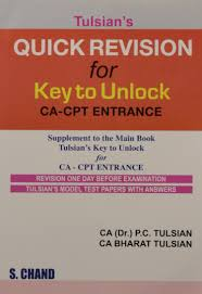 amazon in buy tulsians quick revision for key to unlock ca cpt