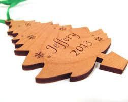 tree shaped ornaments etsy