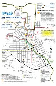 Wisconsin City Map by City Trails Map U2014 Soak In Springs