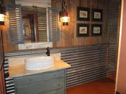 Rustic Bathroom Vanities For Vessel Sinks Bathroom Distressed Wood Bathroom Vanity Grey Bathroom Decor