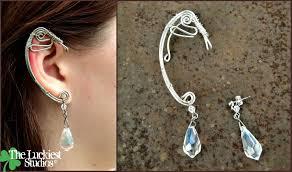 wire ear cuffs wire wrap ear cuff by louness26 on deviantart