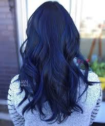 saphire black hair blue sapphire balayage saloninmiddletown bluehair mermaidhair
