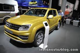 volkswagen amarok custom vw amarok aventura exclusive concept showcased at iaa 2017