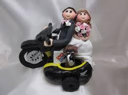 elvis cake topper motorbike wedding cake topper melitafiore