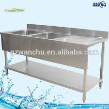 Square Legs Stainless Steel Kitchen Sink Work Tablesingapore - Square kitchen sink