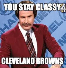 Cleveland Browns Memes - meme creator you stay classy cleveland browns meme generator at