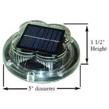 solar led dock lights taylor made led solar dock light automatic on off