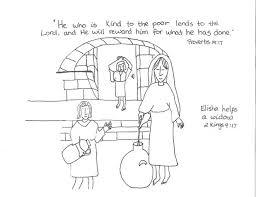 elijah bible story coloring pages john baptist catholic