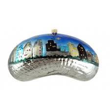 chicago ornament chicago bean small